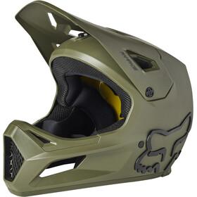 Fox Rampage Helmet Youth, oliwkowy